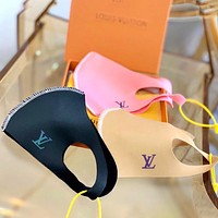 Lv mask Louis Vuitton Breathable Unisex Mask Three Colorful Optional