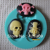 skull mold soap,fondant candle molds,sugar craft tools,silicone forms for soap,  molds for cakes
