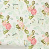 Shelley Hesse Watercolor Flora Wallpaper in Green Size: One Size Decor