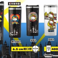 Sanrio Hello Kitty x Dc Comics Taiwan 7-11 Limited 400 ML 304 Stainless Steel Cup