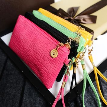 Bags Korean Stylish Phone Purse [6050448833]