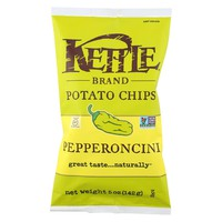 Kettle Foods Potato Chips Pepperoncini - 5 oz
