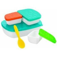 Sassy Baby Mealtime On the Go Feeding Set, Colors May Vary