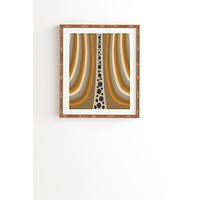 Viviana Gonzalez Textures Abstract 4 Framed Wall Art