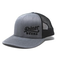 Gray Left-Panel Shiner Beers Hat