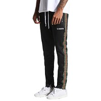 EPTM Men's Karter Track Pants Black Green Red