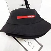 PRADA Popular Women Men Sun Hat Baseball Cap Fisherman Hat