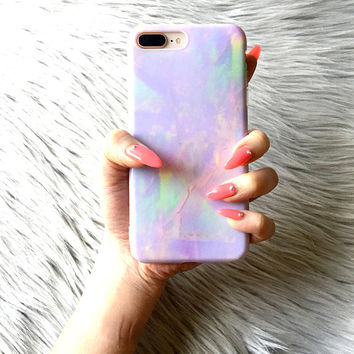 DREAM MARBLE iPhone X Case iPhone 8 Case iPhone 7 Case iPhone 6s 5 SE iPhone 6 Plus Case Marble iPhone Mothers Day Gift Silicone Phone Cover