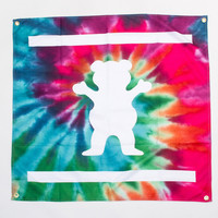 Grizzly Banner in Tie-Dye - ACCESSORIES - GRIZZLY GRIPTAPE