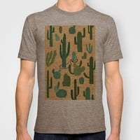 The Snake, The Cactus and The Desert T-shirt by David Penela