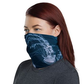 Jelly Fish Neck Gaiter Face Mask - Unisex