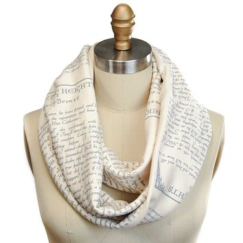 Wuthering Heights Book Scarf (SECOND EDITION)