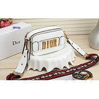 D Dior hot selling ladies shoulder bag fashion shopping bag White