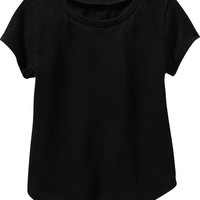 Old Navy Rounded Hem Tees For Baby