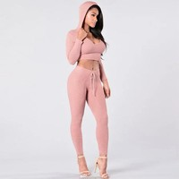 Casual Long Sleeve Track Suit