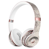 Faded Brown Damask Pattern Full-Body Skin Kit for the Beats by Dre Solo 3 Wireless Headphones