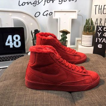 Men's and women's cheap nike shoes Nike Blazer Mid Suede