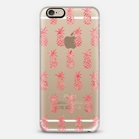 Pink Pineapples iPhone 6 case by Sara Moore | Casetify