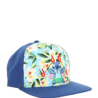 Disney Lilo & Stitch Fire Dance Snapback Hat