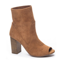 TOM GIRL SUEDE HEELED BOOTIE