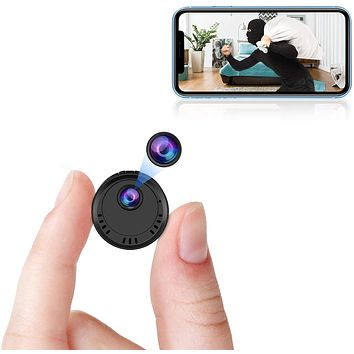 1080p HD Spy Camera Wireless Hidden Small Secret Nanny Cam with Super Night Vision.