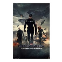 Captain America Winter Soldier Movie Poster