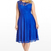 Plus Size A Lace To Call My Own Dress | Fashion To Figure