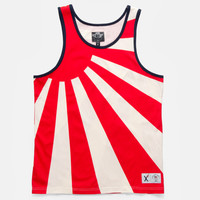 10Deep   Tops   Flags Tank - Red