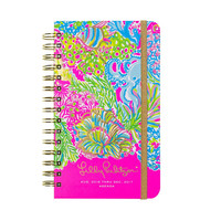 17 Month Medium Agenda {Lovers Coral} - Lilly Pulitzer
