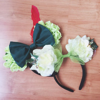 Tinkerbell Inspired Minnie Ears