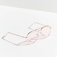 Road Trip Aviator Sunglasses   Urban Outfitters