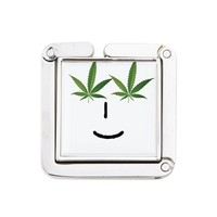 Pot Head Emote Square Purse Hanger> The Pot Head Emote> 420 Gear Stop