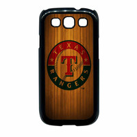 Texas Rangers Wood Pattern Samsung Galaxy S3 Case