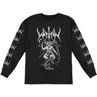 Watain Men's  Baphomet Long Sleeve  Long Sleeve Black