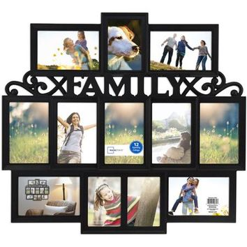 Mainstays Telly II 12-Opening Collage Frame - Walmart.com