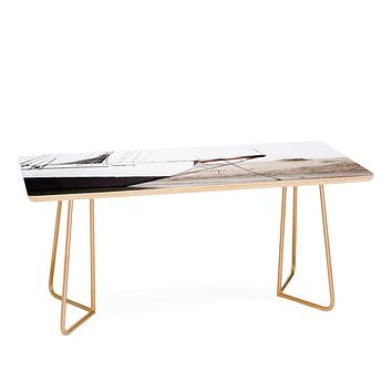 Bree Madden Sail Boat Coffee Table