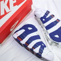 "Air More Uptempo QS ""Knicks"""