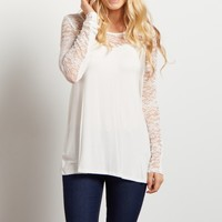 Ivory-Lace-Accent-Long-Sleeve-Top