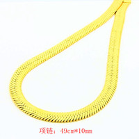 jewellery charms 24k gold plated necklace men wide braid tattoo choker prices in euros YHDN 32 MP