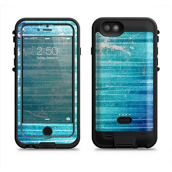 The Patchy Folded Vibrant Blue Paint  iPhone 6/6s Plus LifeProof Fre POWER Case Skin Kit