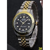 ROLEX Fashion Women Men Quartz Watches Wrist Watch 3#