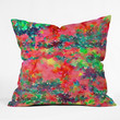 Jacqueline Maldonado Wild At Heart 1 Throw Pillow