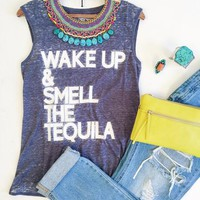 Wake Up With Tequila Tank