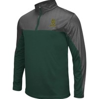 Colosseum Athletics Men's Baylor Bears Green/Grey Hornet II Quarter-Zip Pullover | DICK'S Sporting Goods