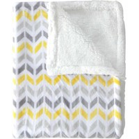 Happy Baby Reverse to Sherpa Royal Plush Blanket (Choose Your Color) - Walmart.com