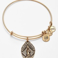 Women's Alex and Ani 'Guardian of Peace' Expandable Charm Bracelet