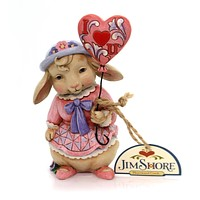 Jim Shore LOVE IS IN THE AIR Polyresin Valentine Easter 4054533