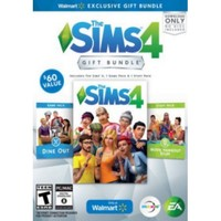 The Sims 4 Walmart Gift Bundle with Dine Out Game Pack and Movie Hangout Stuff Pack (PC) - Walmart.com