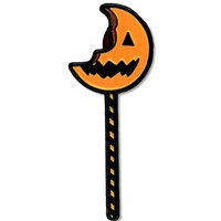 Trick 'R Treat - Bitten Jack O' Lantern Lollipop Pin
