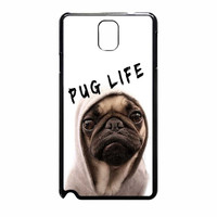 Funny Pug Life 389 Samsung Galaxy Note 3 Case